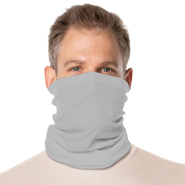 SailFast Apparel, LLC Buff Pearl Grey / Regular 'Solid Color UPF50' - Neck Gaiter - (2-Sizes) (5-Colors)