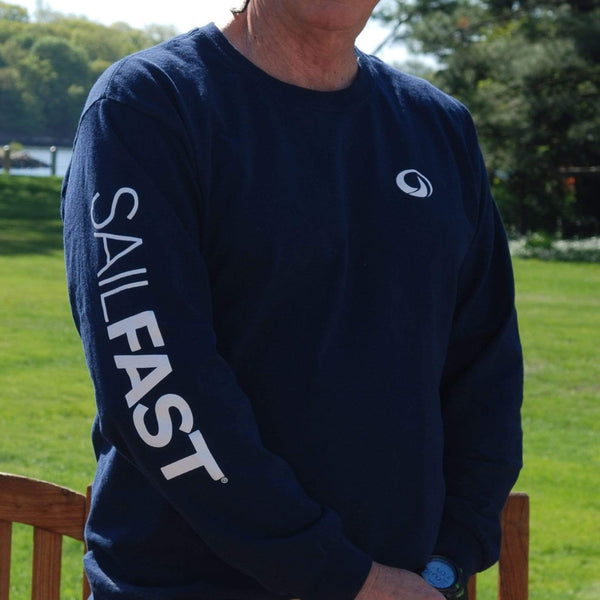 SailFast Apparel, LLC Cotton 'Waypoint' (2-colors) 100% Cotton Long Sleeve Comfort