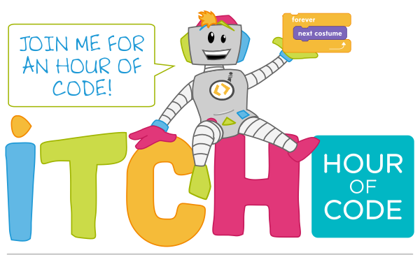 TROBO Hour of Code with iTCH