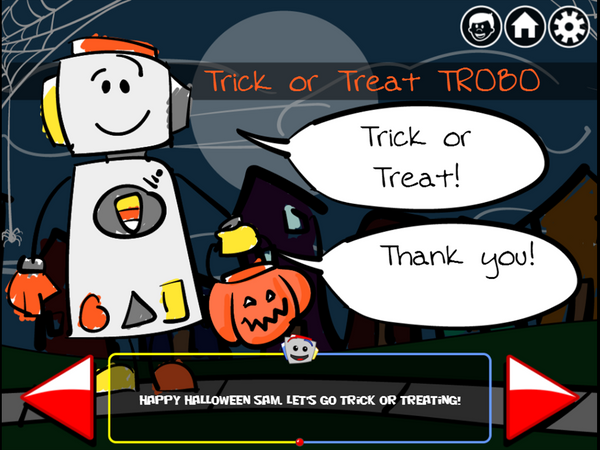 Trick or Treat TROBO!