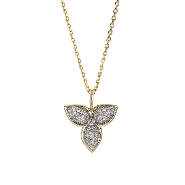 Mariposa in Flight Necklace in Pavé Diamonds - USE CODE HOORAY50 FOR AN EXTRA 50% OFF
