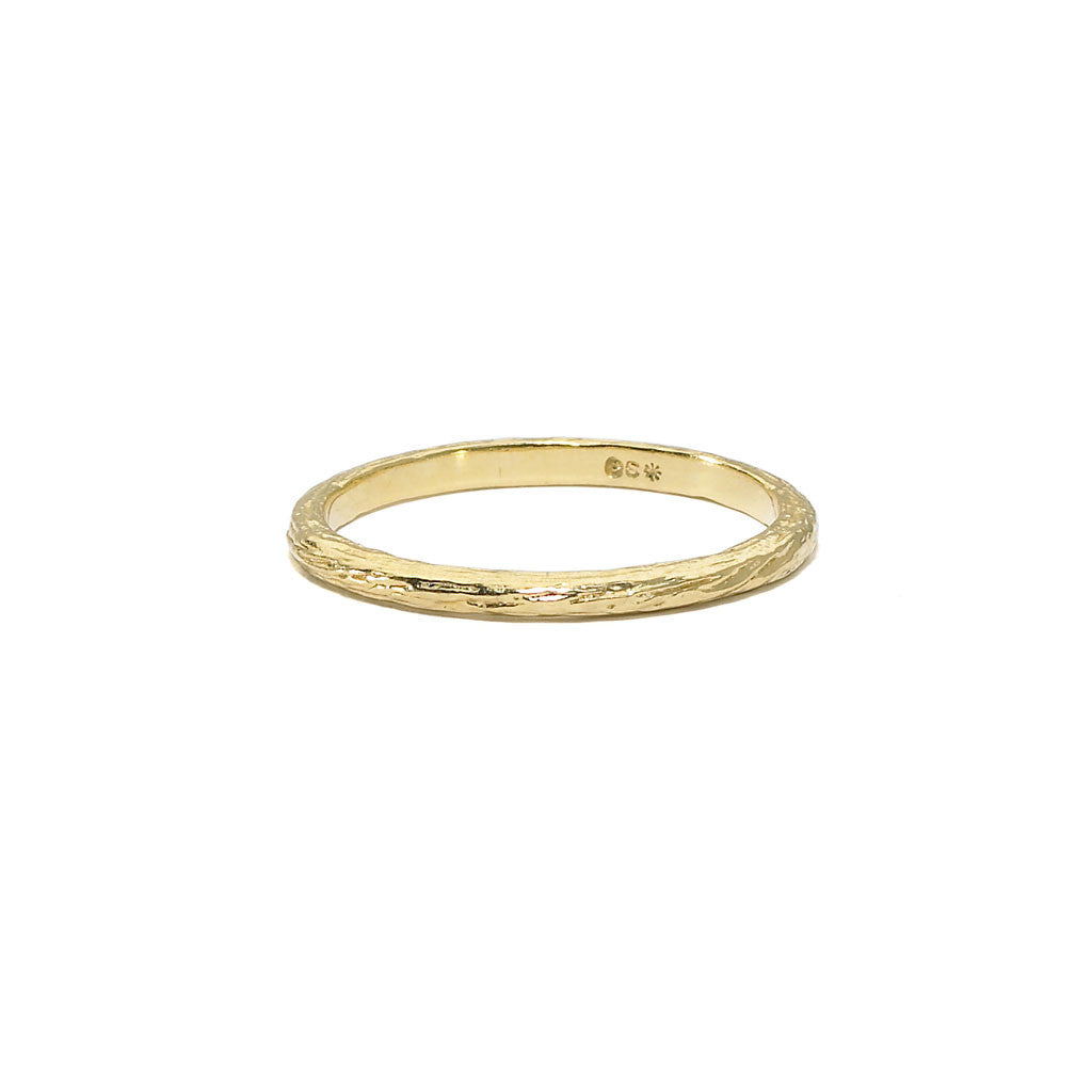 Tree of Life Birch Branch Stacking Ring - 18kt Gold - RING IS $192 USE CODE JOY25