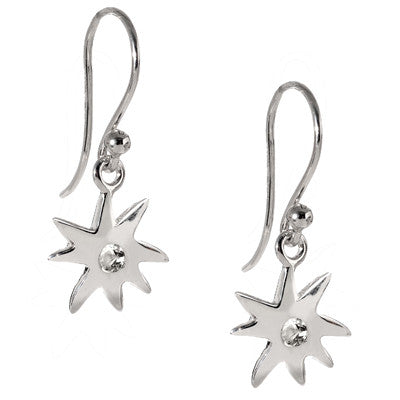 Sterling Silver Hope Star Earrings - A Reminder of Your Beauty - USE CODE SPRING30 FOR AN EXTRA 30% OFF