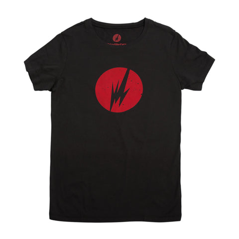 BRAINFEEDER - WOMENS RED LOGO TEE