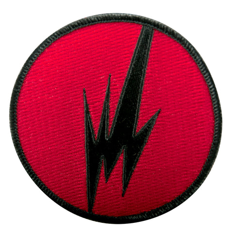 BRAINFEEDER - RED LOGO PATCH