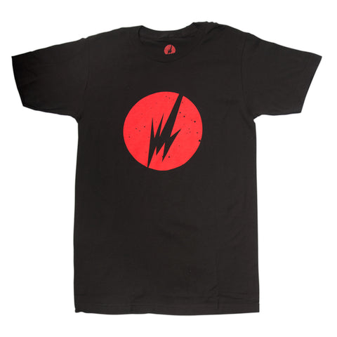BRAINFEEDER - MENS RED LOGO TEE