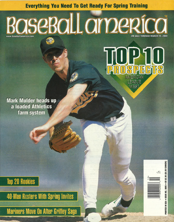 (20000301) Top 10 Prospects American League West
