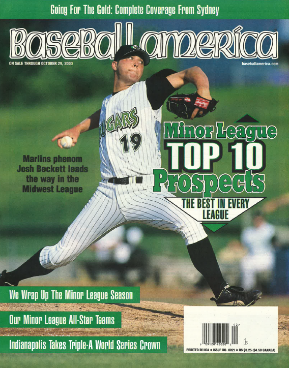 (20001002) Minor League Top 10 Prospects