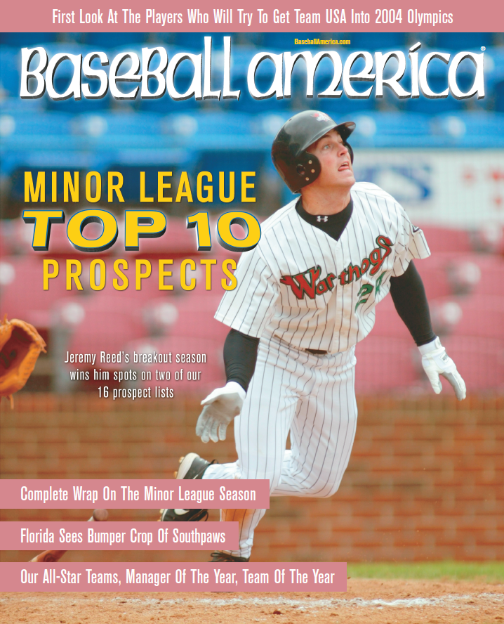 (20031002) Minor League Top 10 Prospects
