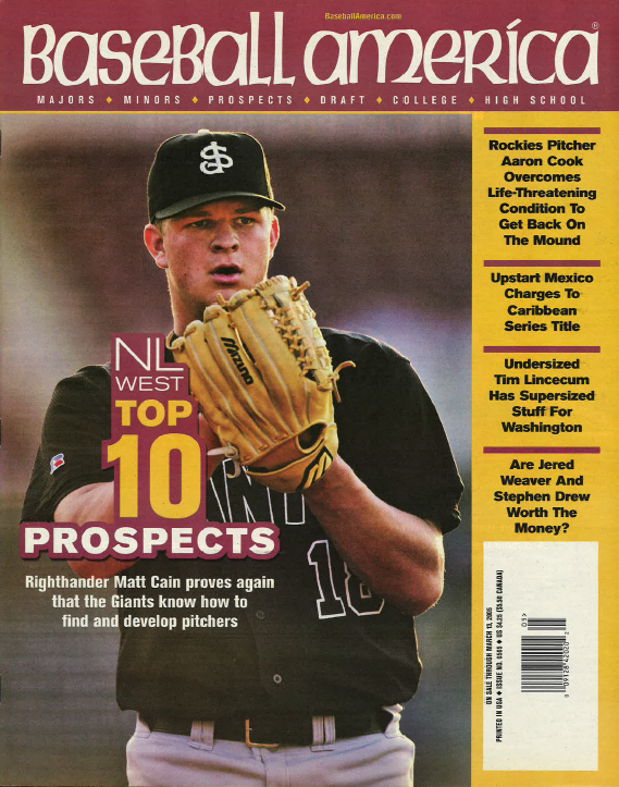 (20050301) Top 10 Prospects National League West