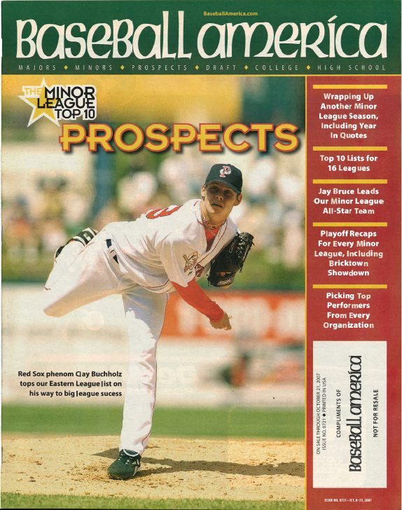 (20071002) The Minor League Top 10 Prospects
