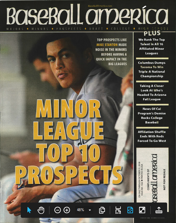 (101002) Minor League Top 10 Prospects