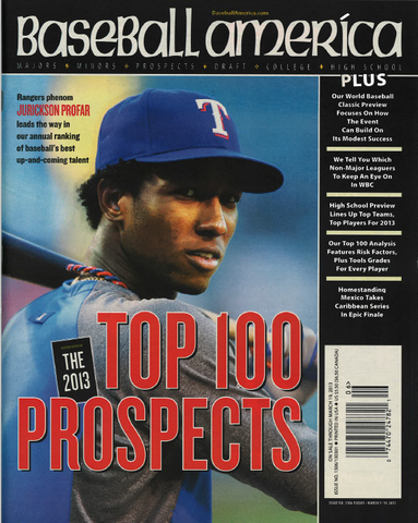 (130301) The 2013 Top 100 Prospects