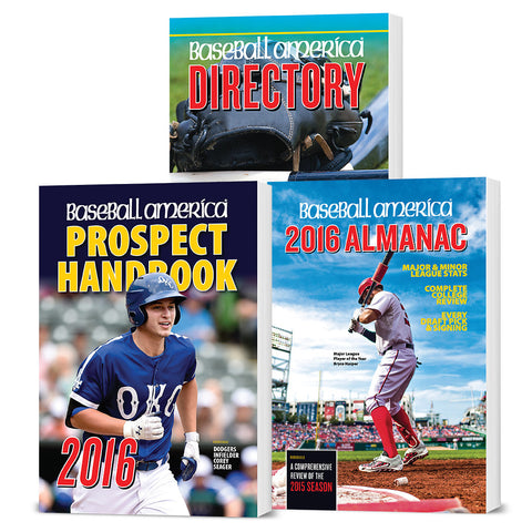 2016 Baseball America's Best Sellers
