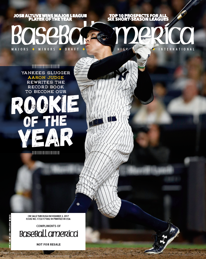 (171002) Aaron Judge Rookie of the Year