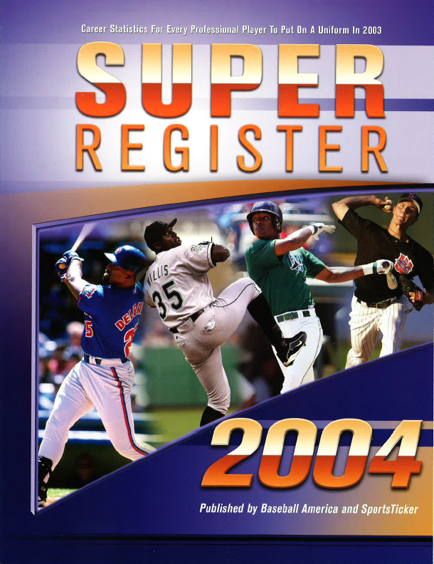 2004 Baseball America Super Register