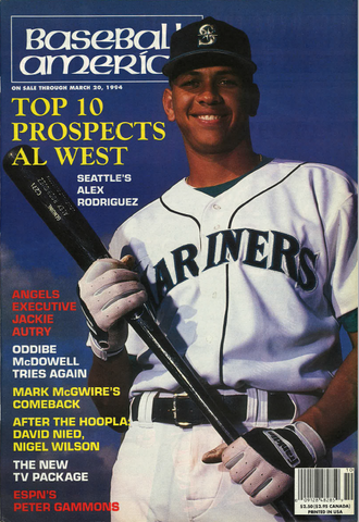 (19940302) Top 10 Prospects American League West