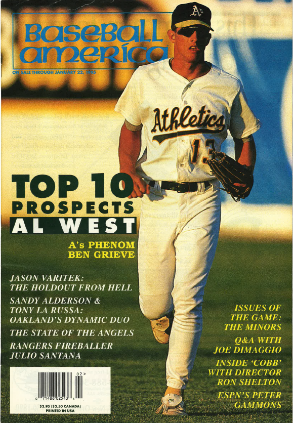 (19950102) Top 10 Prospects American League West