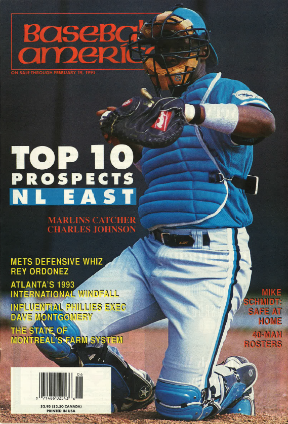 (19950202) Top 10 Prospects National League East