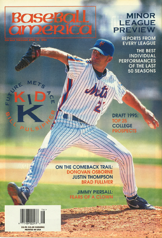 (19950403) Kid K: Future Mets Ace Bill Pulsipher