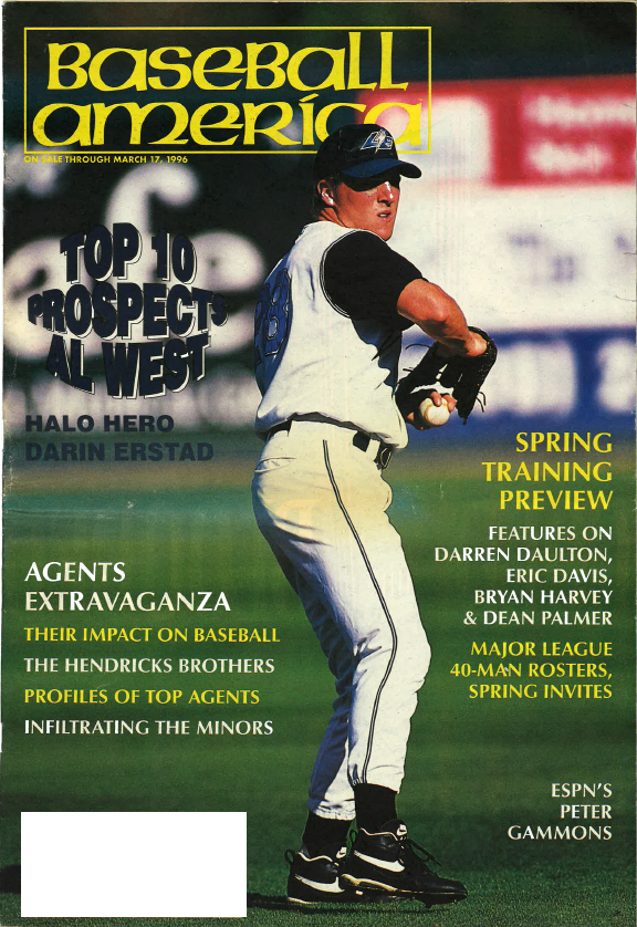 (19960302) Top 10 Prospects American League West