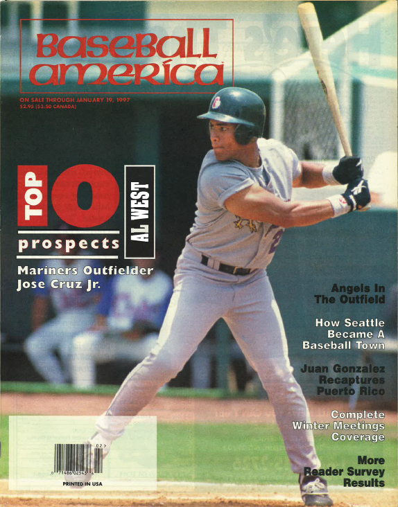(19970102) Top 10 Prospects American League West
