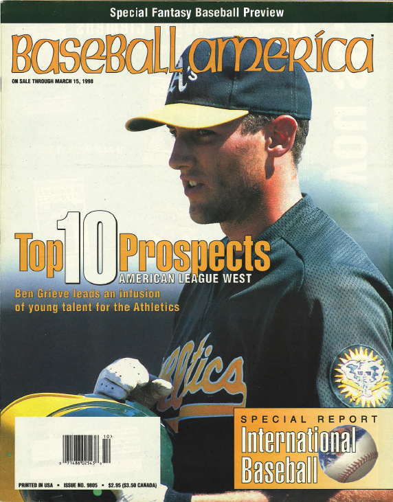 (19980301) Top 10 Prospects American League West