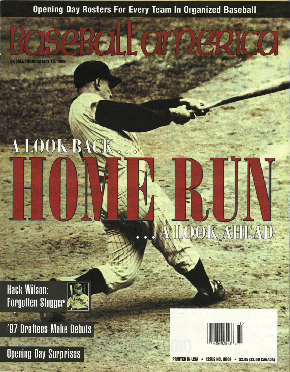 (19980501) A Look Back…Home Run…A Look Ahead