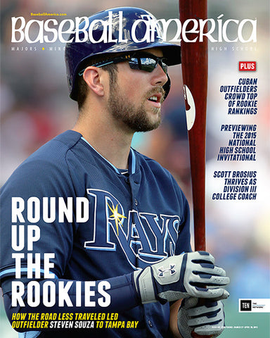 (150302) Round up the Rookies How the Road Less Traveled Led Outfielder Steven Souza to Tampa Bay