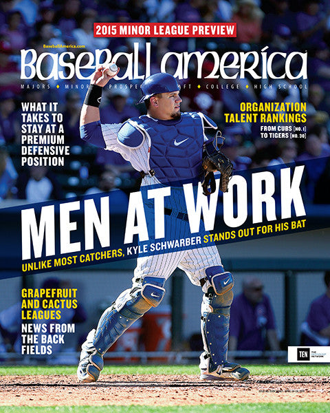 (150401) 2015 Minor League Preview Men at Work Kyle Schwarber Stands Out for his Bat