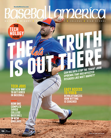(150501) The Truth is Out There Can Big Data Stop the Tommy John Epidemic That Has Affected Pitchers Like Matt Harvey