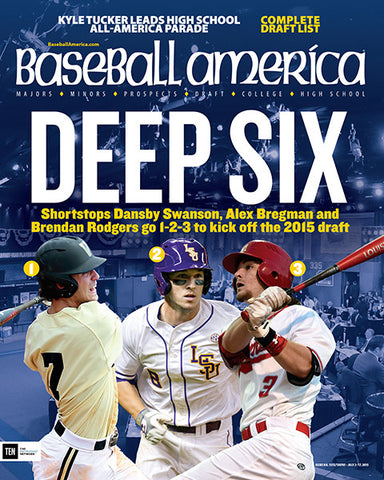 (150701) Deep Six Shortstops Dansby Swanson, Alex Bregman and Brendan Rodgers to 1-2-3
