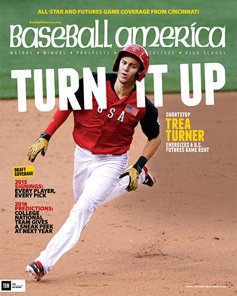 (150703) Shortstop Trea Turner Energizes a US Future Game Rout