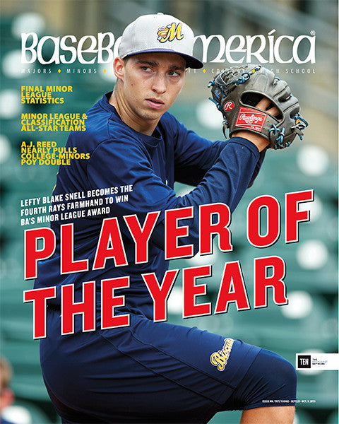 (150902) Player of the Year Blake Snell