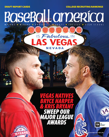 (151002) Vegas Natives Bryce Harper & Kris Bryant Sweep Our Major League Awards
