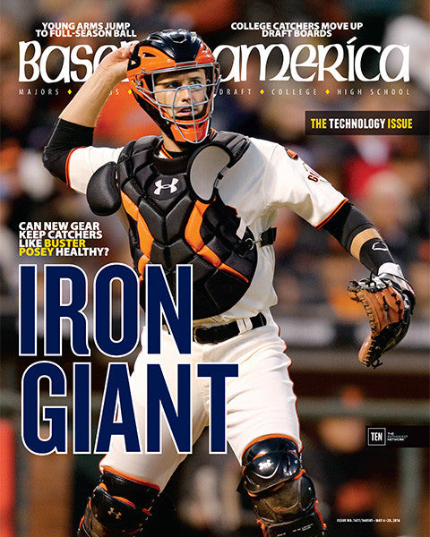 Iron Giant Can New Gear Keep Catchers Like Buster Posey Healthy