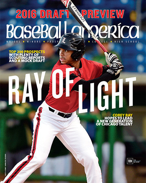 Draft Preview Issue - Ray of Light Corey Ray Hopes to Lead a New Generation of Chicago Talent