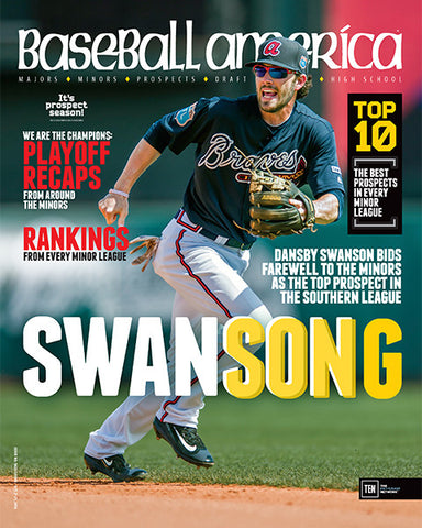 Swansong Dansby Swanson Bids Farewell to the Minors as the Top Prospect in the Southern League