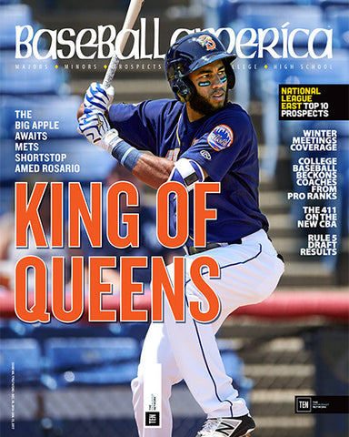 King of Queens The Big Apple Awaits Mets Shortstop Amed Rosario