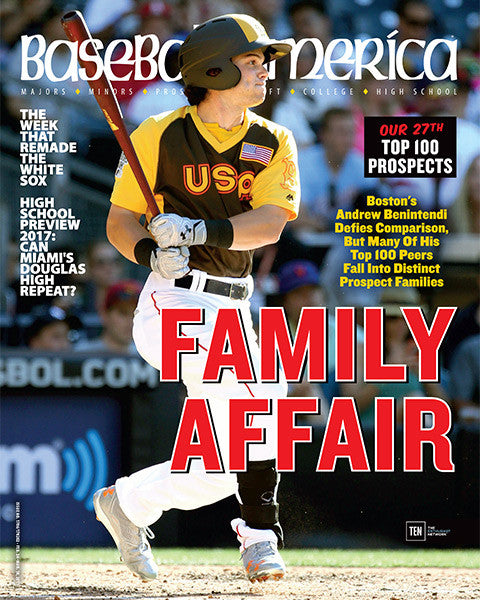 (170202) Family Affair Bostons Andrew Benintendi Defies Comparison