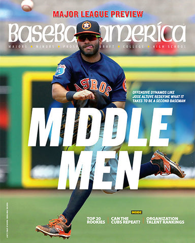 (170302) Middle Men Defensive Dynamos Like Jose Altuve Redefine What it Takes to be a Second Baseman