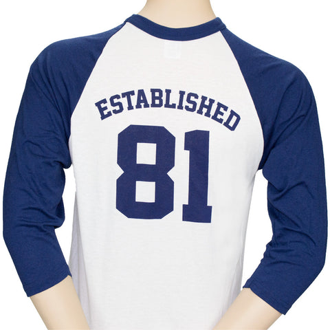 """Established in 81"" Long Sleeve T-Shirt"