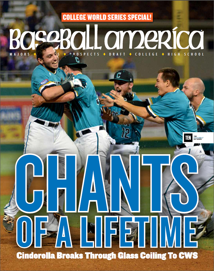 2016 CWS Cover - Coastal Carolina