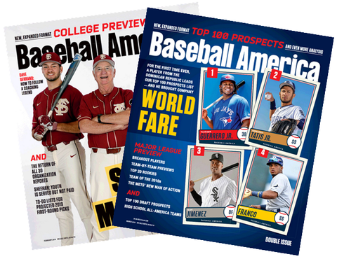 Sign up for a trial of the Baseball America Magazine