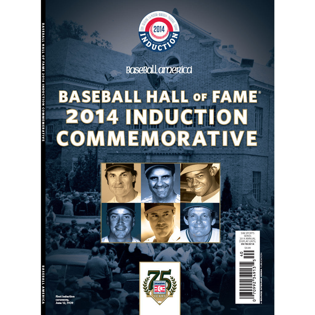 2014 Hall of Fame Commemorative