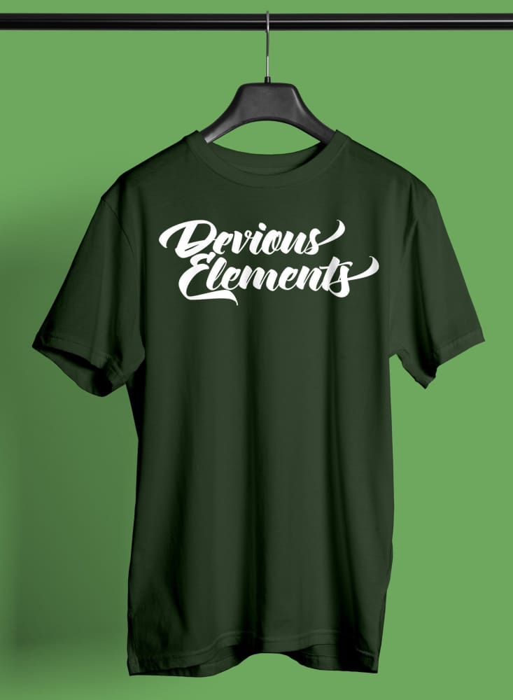 Devious Elements Crew T-Shirt Devious Elements Apparel Shirt Devious Elements Crew T-Shirt Devious Elements Crew T-Shirt - Devious Elements Apparel