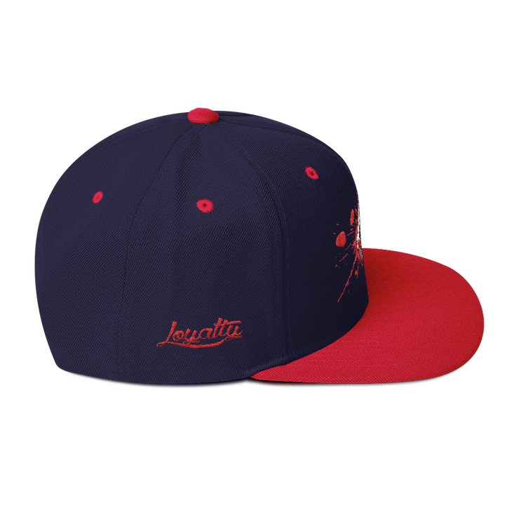 Voorhees Blood Mask High Profile Snapback Hat - Devious Elements Apparel