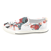 Basquiat Floral Print Canvas Men's Slip On Low-Top Devious Elements Apparel shoes Basquiat Floral Print Canvas Men's Slip On Low-Top Basquiat Floral Print Canvas Men's Slip On Low-Top - Devious Elements Apparel