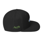 Big Waves High Profile Snapback Hat Loyalty hat Big Waves High Profile Snapback Hat Big Waves High Profile Snapback Hat - Devious Elements Apparel