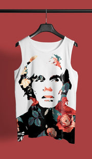Warhal Floral All-Over-Print Unisex Tank MADE Tank Warhal Floral All-Over-Print Unisex Tank Warhal Floral All-Over-Print Unisex Tank - Devious Elements Apparel